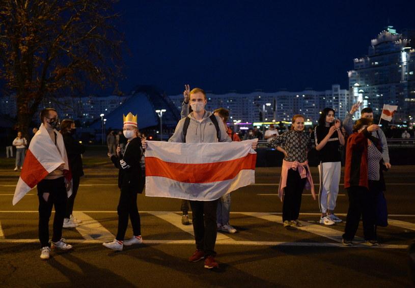 Protesty na Białorusi, zdjęcie ilustracyjne /PAP/EPA/STR /PAP/EPA