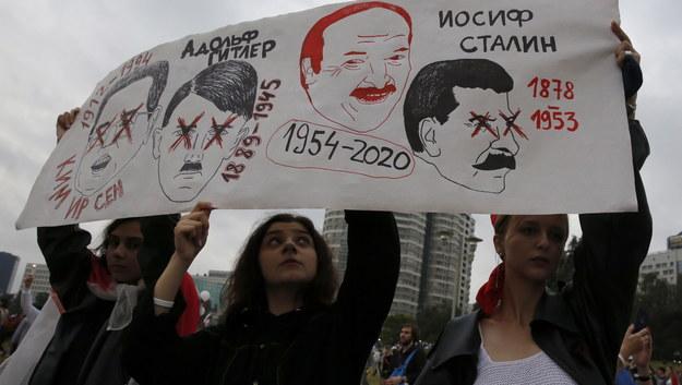 Protesty na Białorusi /TATYANA ZENKOVICH  /PAP/EPA