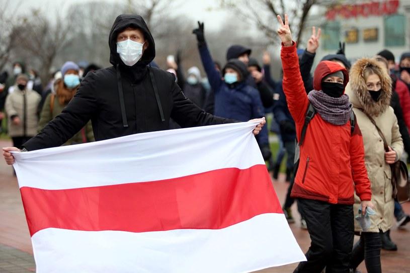 Protesty na Białorusi /AFP