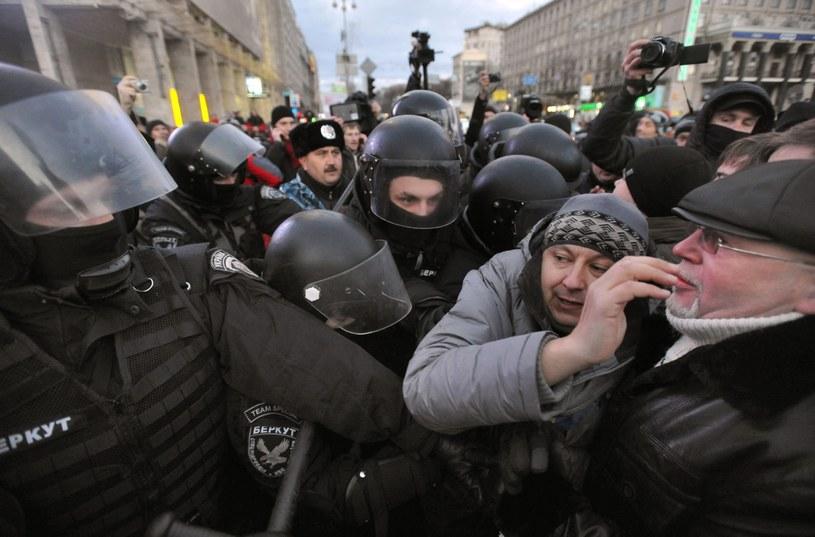 Protesty na Planu Niepodległości /PAP/EPA