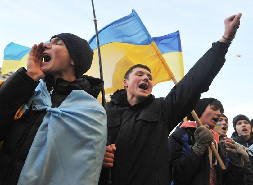 Protesty na Ukrainie trwają od 21 listopada /AFP