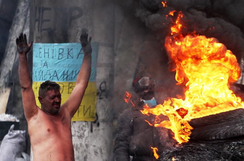 Protesty na Ukrainie wciąż trwają /AFP