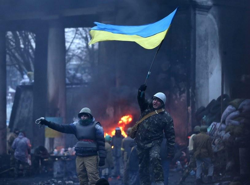 Protesty na Ukrainie /PAP/EPA
