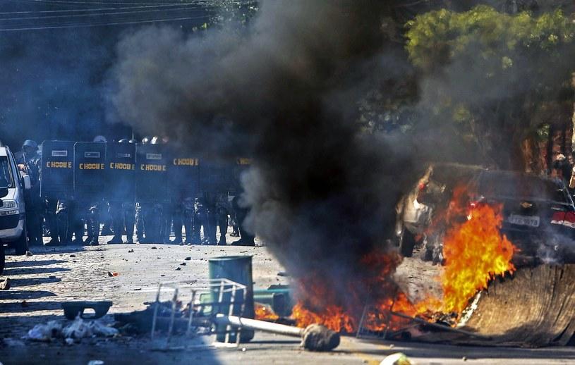 Protesty na ulicach Sao Paulo /AFP