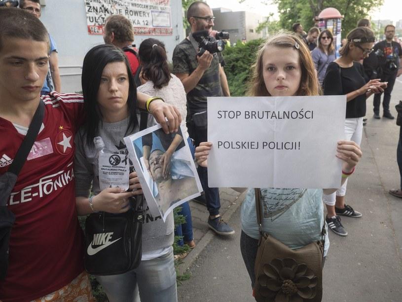 Protesty po śmierci Igora S. /Leszek Kotarba  /East News