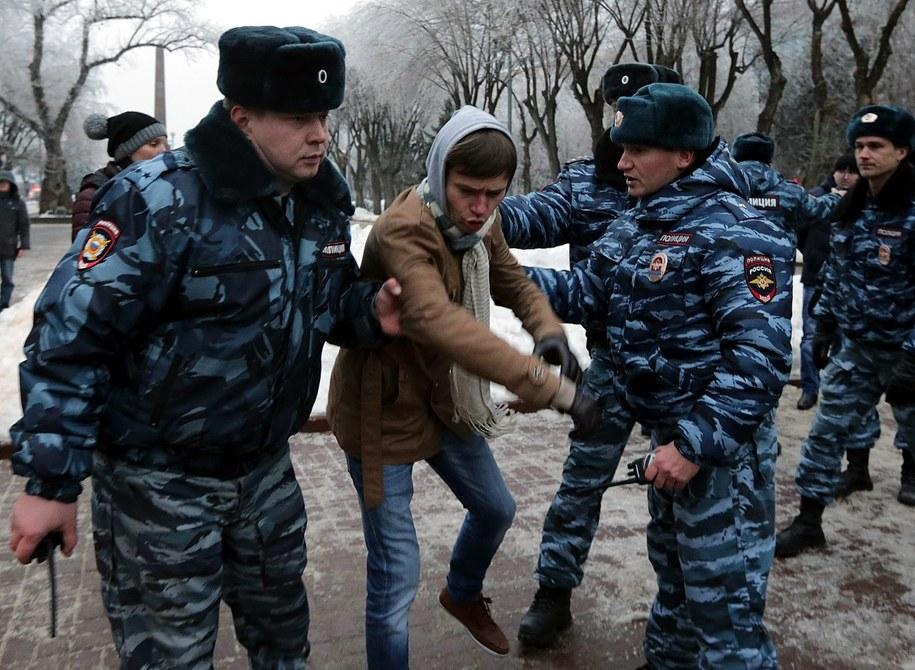 Protesty po zamachach w Wołgogradzie /MAXIM SHIPENKOV    /PAP/EPA