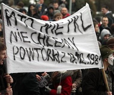 Protesty przeciw ACTA w polskich miastach