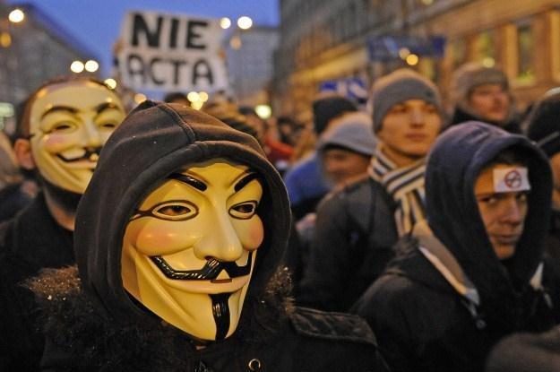 Protesty przeciwko ACTA będą kontynuowane /AFP