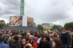 Protesty przeciwko polityce Emmanuela Macrona