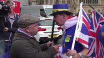 Protesty przed brytyjskim parlamentem. Jedni chcą Brexitu, drudzy nie