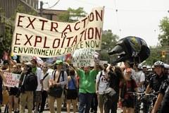 Protesty przed szczytami G20 w Toronto
