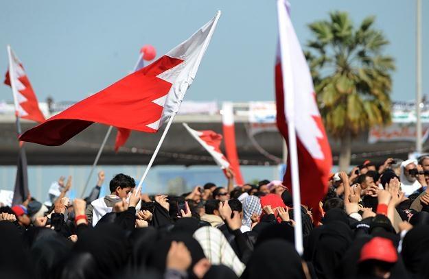 Protesty w Bahrajnie /AFP