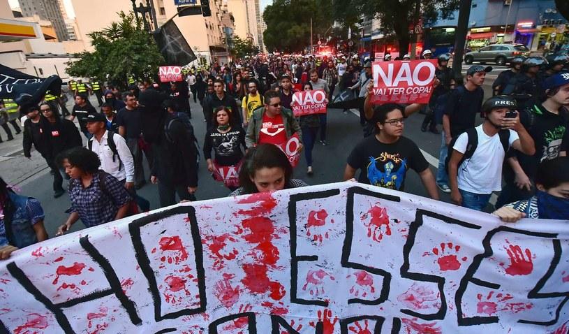 Protesty w Brazylii nie ustają /AFP