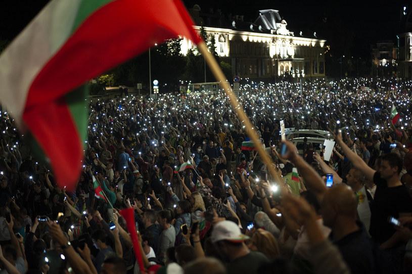 Protesty w Bulgarii /Hristo Rusev /Getty Images