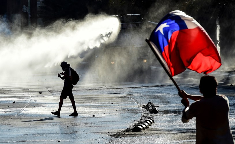 Protesty w Chile /AFP