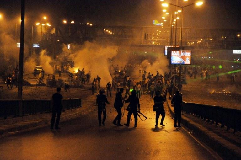 Protesty w Egipcie /AFP