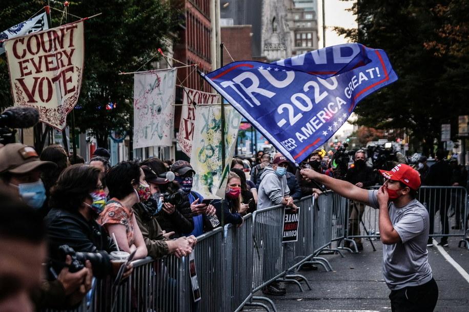 Protesty w Filadelfii /MARIO CRUZ /PAP/EPA