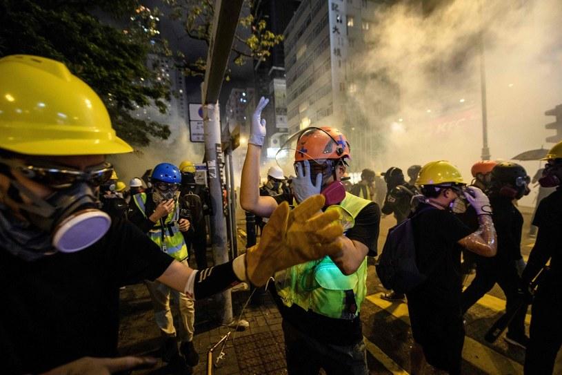 Protesty w Hongkongu (zdjęcie archiwalne) /AFP