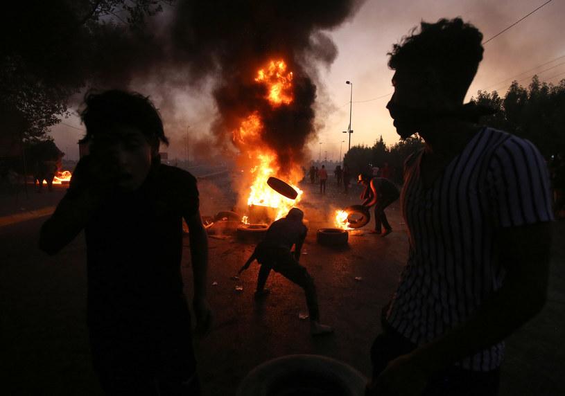 Protesty w Iraku /AFP