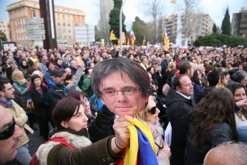 Protesty w Katalonii (zdj. ilustracyjne) /JAUME SELLART /PAP/EPA