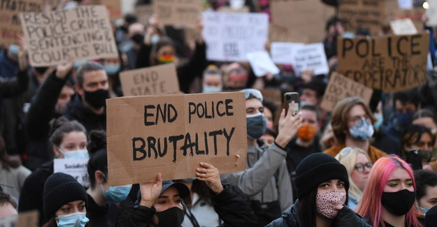 Protesty w Londynie / NEIL HALL /PAP/EPA