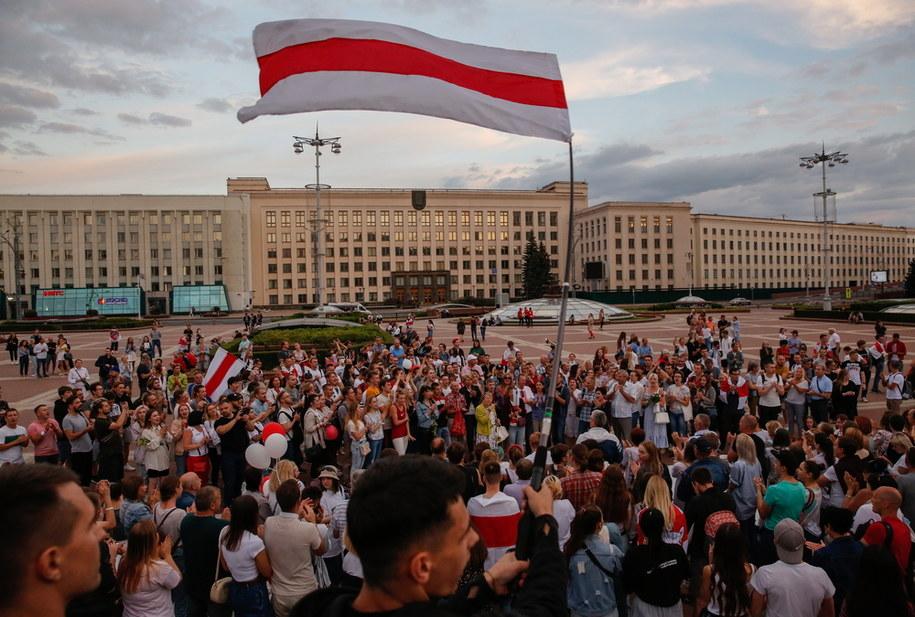 Protesty w Mińsku /TATYANA ZENKOVICH  /PAP/EPA