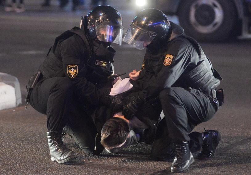 Protesty w Mińsku / STR   /PAP/EPA