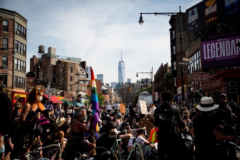 Protesty w Nowym Jorku /ALBA VIGARAY /PAP/EPA