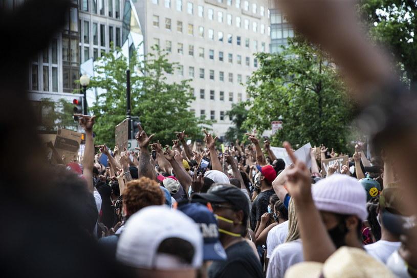 Protesty w pobliżu Białego Domu / SARAH SILBIGER /PAP/EPA
