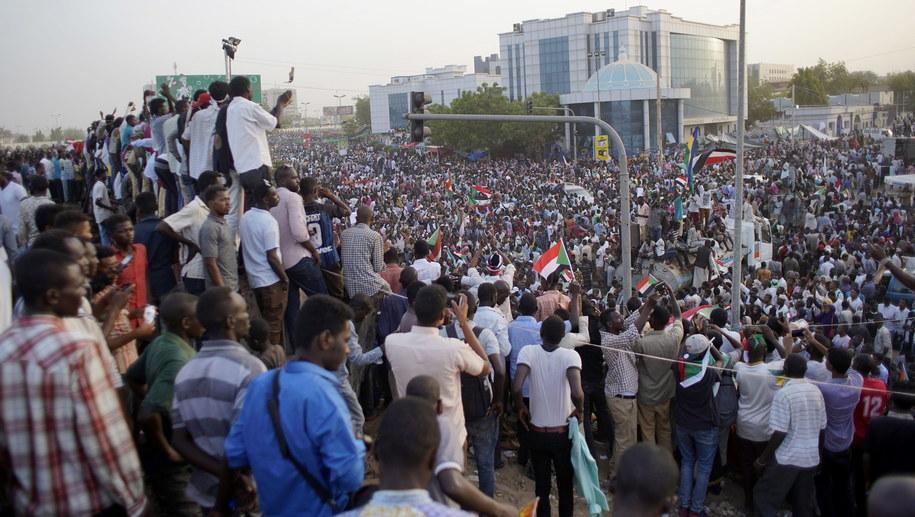 Protesty w Sudanie / STR   /PAP/EPA