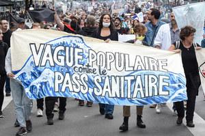 Protesty we Francji. Wychodzą na ulice już dziesiątą sobotę