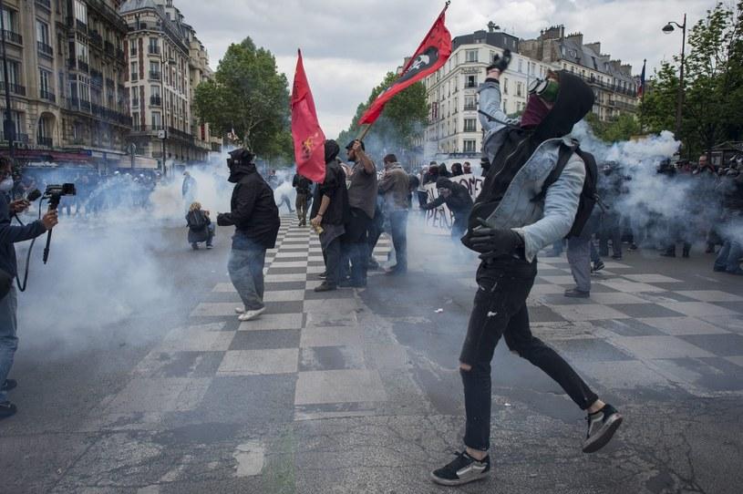 Protesty we Francji /JEREMY LEMPIN /PAP/EPA