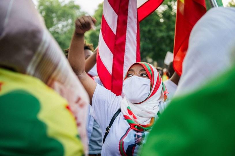 Protesty wybuchły po zamordowaniu popularnego piosenkarza. /GETTY IMAGES NORTH AMERICA Brandon Bell /AFP
