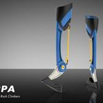 Proteza nogi inspirowana racicami kozic idealna do wspinaczki