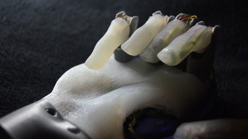 Proteza wykonana przy pomocy druku 3D /materiały prasowe
