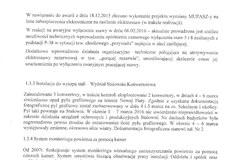 Protokół WIOŚ po kontroli w ArcelorMittal Poland S.A. w Krakowie