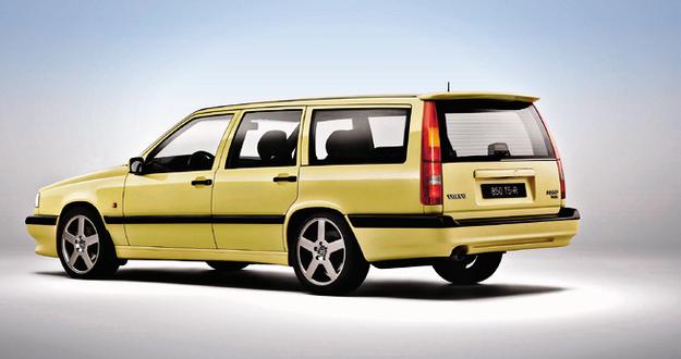 Protoplasta: 850 T-5R w typowym dla tego modelu kolorze. /Volvo