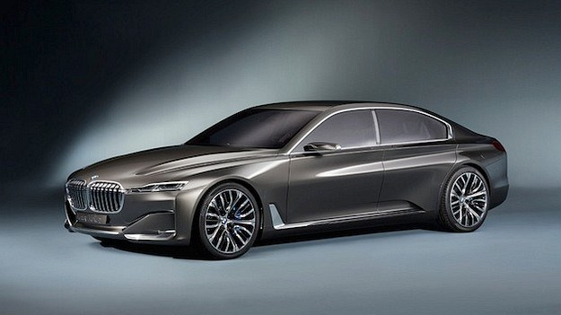 Prototyp BMW Vision Future Luxury, czyli zapowiedź nowej serii 7. /BMW