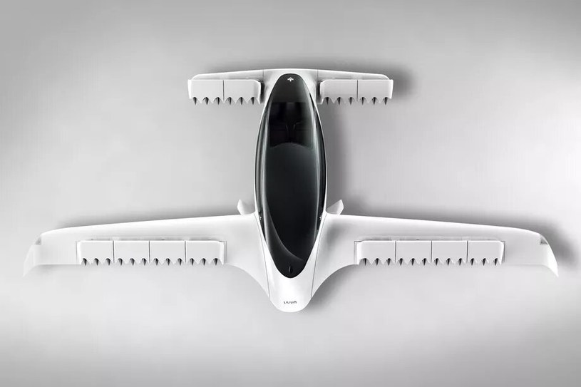 Prototyp latającej taksówki Lilium /materiały prasowe