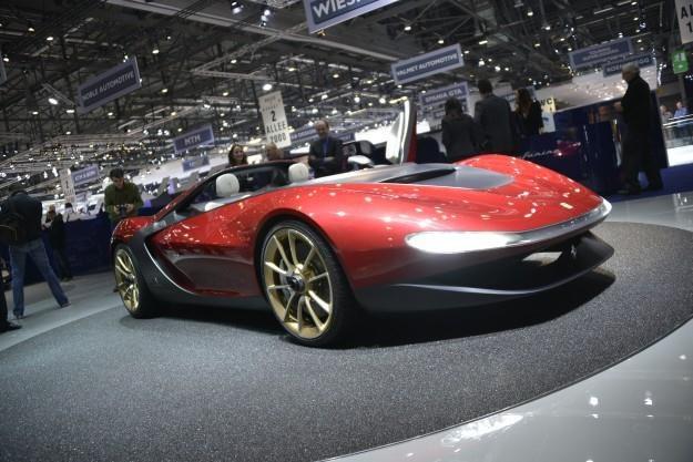 Prototyp Pininfariny na salonie w Genewie /