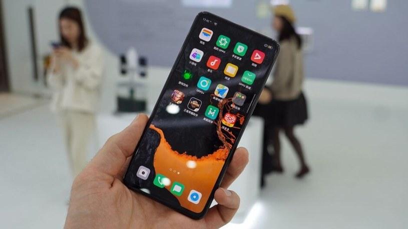 Prototyp smartfona Oppo / fot. TechRadar /materiał zewnętrzny