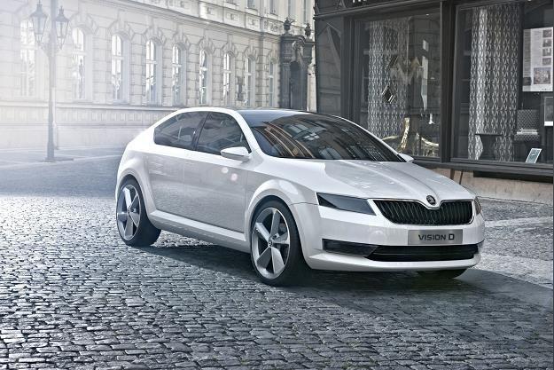 Prototyp VisionD z 2011 roku wyznaczył nowe kierunki stylistyczne Skody /