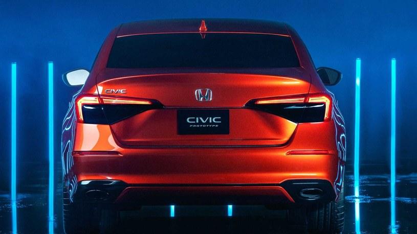 Prototypowa Honda Civic 11. generacji /