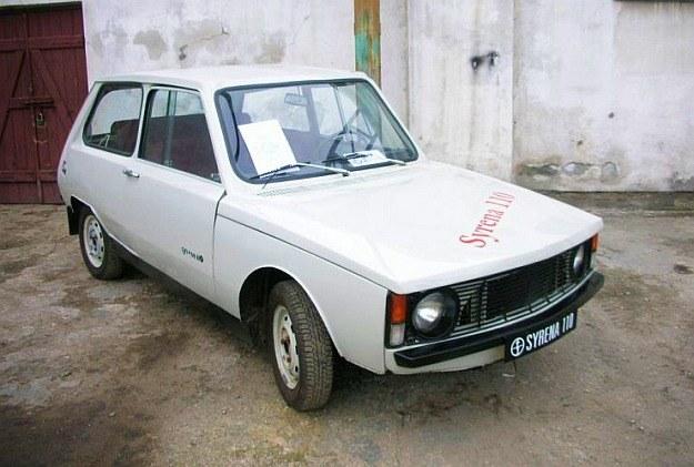 Prototypowa Syrena 110, która nigdy nie weszła do produkcji /INTERIA.PL