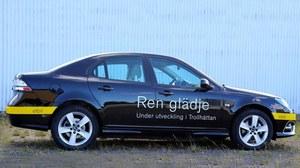 Prototypowy Saab 9-3 EV