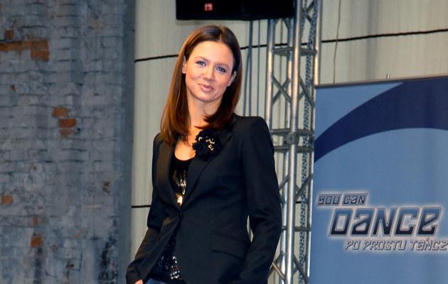 """Prowadząca program """"You can dance - Po prostu tańcz"""" - Kinga Rusin /fot.A.Szilagyi  /MWMedia"""