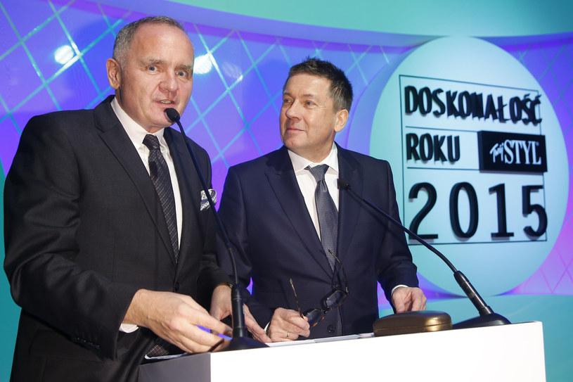 Prowadzący galę: Maciej Brzozowski i Jacek Szmidt /Podlewski /AKPA