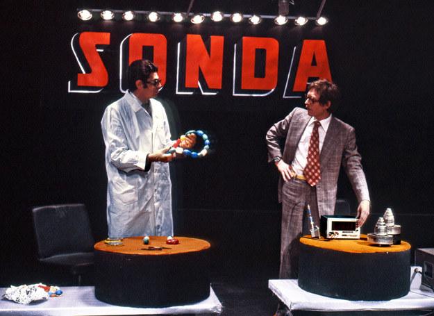 """Prowadzący program """"Sonda"""" /Jerzy Kośnik /Agencja FORUM"""