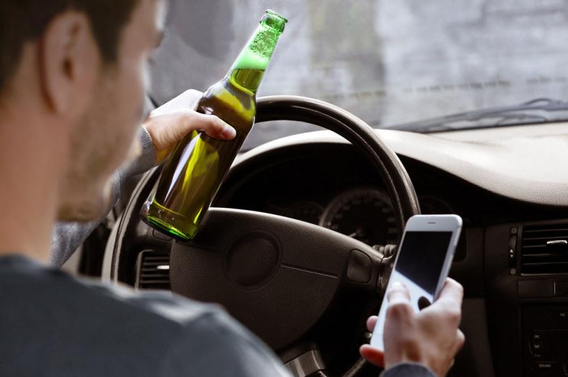 Prowadzenie pod wpływem alkoholu to nadal duży problem na całym świecie /123RF/PICSEL