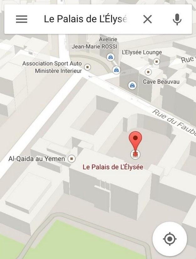 Prowokacja islamskich ekstremistów w internetowym serwisie Google Maps /